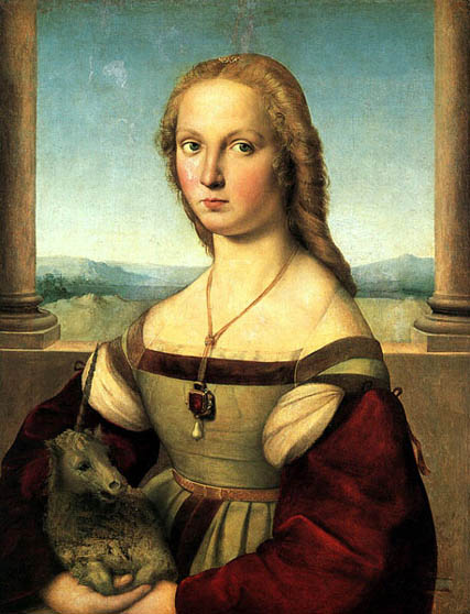 1505_Raphael_The_Woman_with_the_Unicorn
