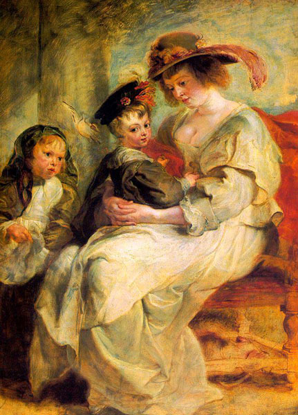 1636_Rubens_Helene_Fourment_and_her_Children