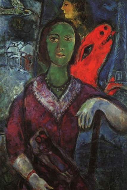 1966_chagall_Portrait_of_Vava